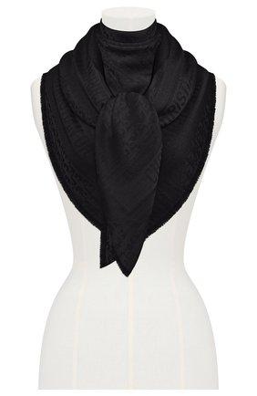 Женский платок dior oblique DIOR черного цвета, арт. 02CDO140A651C900 | Фото 2