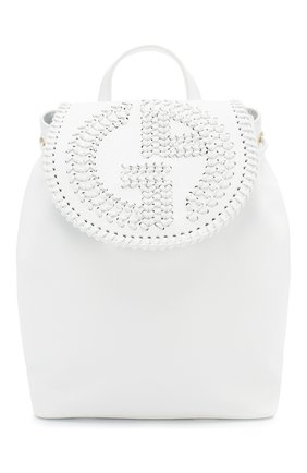 Женский рюкзак GIORGIO ARMANI белого цвета, арт. Y1L012/YTC5A | Фото 1