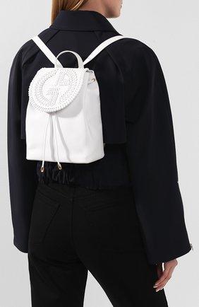 Женский рюкзак GIORGIO ARMANI белого цвета, арт. Y1L012/YTC5A | Фото 2