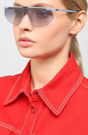 Мужские солнцезащитные очки MYKITA MYLON голубого цвета, арт. PARIS/455 | Фото 2