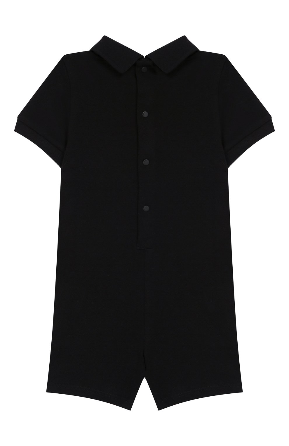 Детское хлопковое боди GIVENCHY черного цвета, арт. H94045 | Фото 2