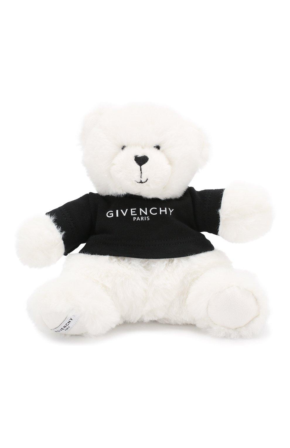 Детский комбинезон в комплекте с игрушкой GIVENCHY белого цвета, арт. H9K028 | Фото 5