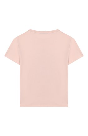 Детская хлопковая футболка MARC JACOBS (THE) розового цвета, арт. W15489 | Фото 2