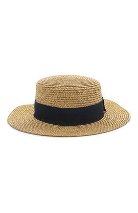Детская шляпа MARC JACOBS (THE) золотого цвета, арт. W11047 | Фото 1