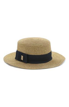 Детская шляпа MARC JACOBS (THE) золотого цвета, арт. W11047 | Фото 2