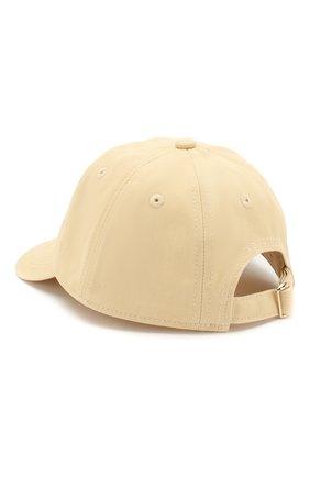 Детская хлопковая кепка MINI RODINI желтого цвета, арт. 20265103 | Фото 2