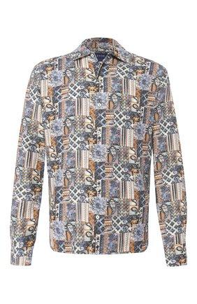 Мужская льняная рубашка ETON разноцветного цвета, арт. 1000 01164 | Фото 1