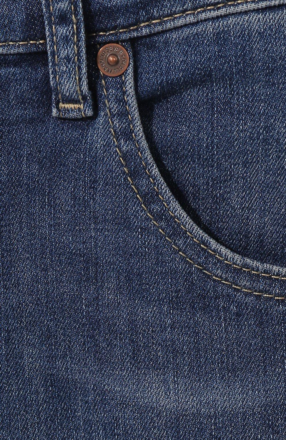 Мужские джинсы 7 FOR ALL MANKIND синего цвета, арт. JSMSU250MX   Фото 5
