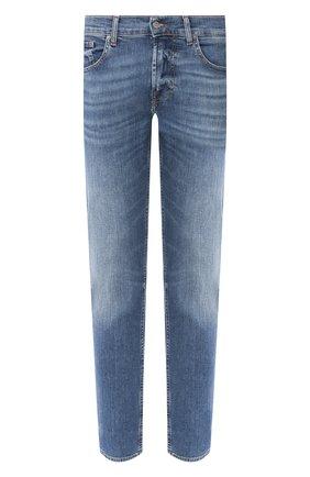 Мужские джинсы 7 FOR ALL MANKIND синего цвета, арт. JSMXU940SB | Фото 1