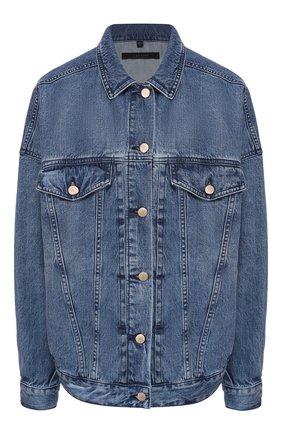Женская джинсовая куртка J BRAND синего цвета, арт. JB002861 | Фото 1