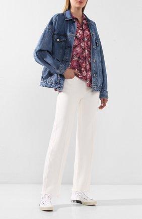 Женская джинсовая куртка J BRAND синего цвета, арт. JB002861 | Фото 2