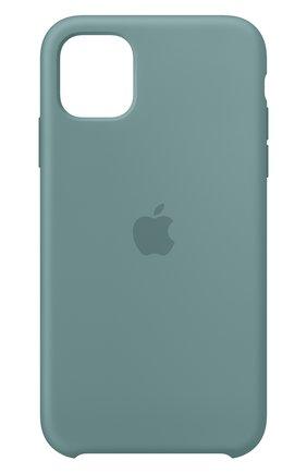 Мужской чехол для iphone 11 APPLE светло-зеленого цвета, арт. MXYW2ZM/A | Фото 1