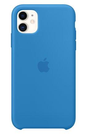 Мужской чехол для iphone 11 APPLE  синего цвета, арт. MXYY2ZM/A | Фото 3