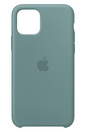 Мужской чехол для iphone 11 pro APPLE  светло-зеленого цвета, арт. MY1C2ZM/A | Фото 1