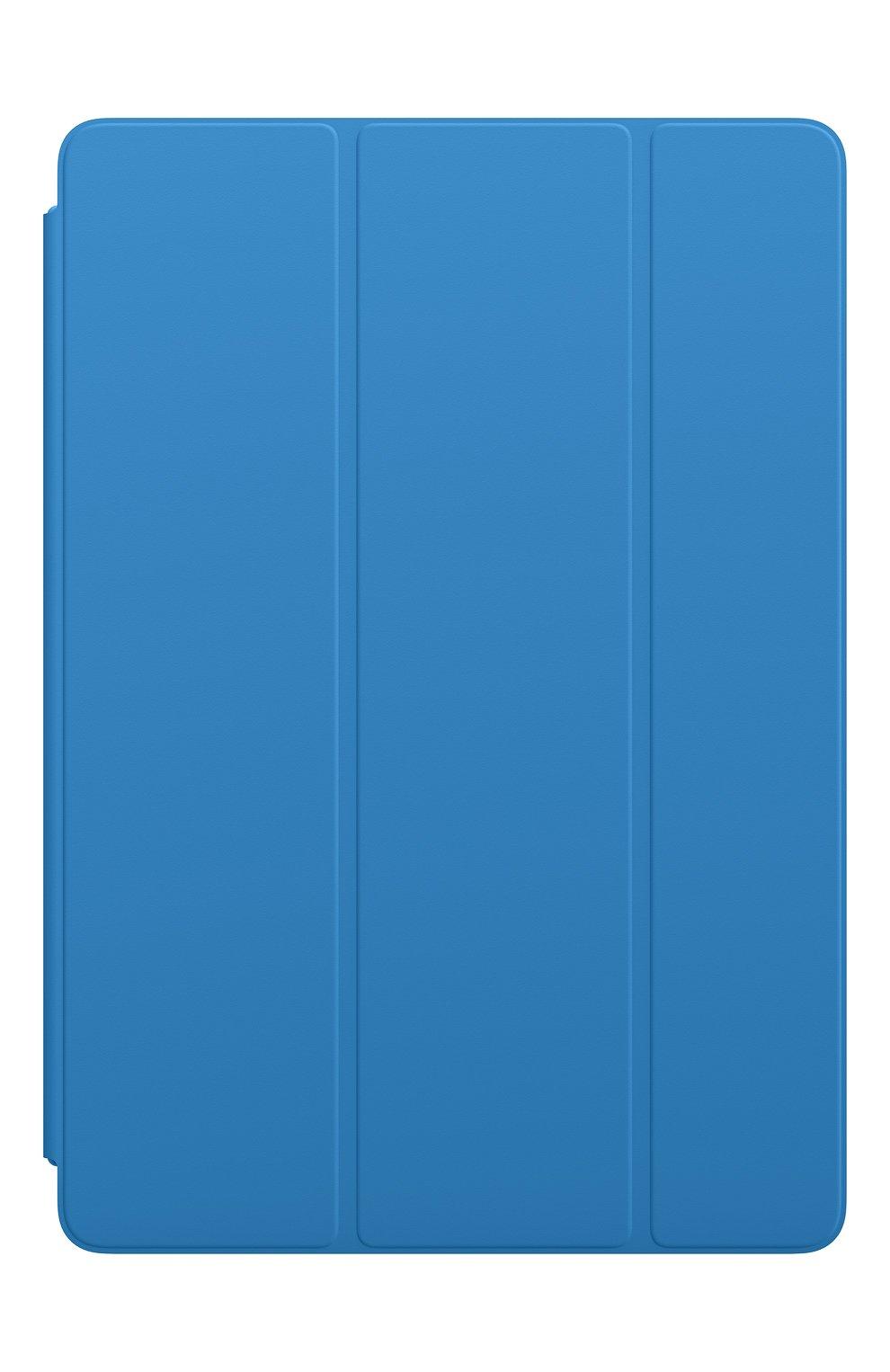 Мужской чехол smart cover для ipad (7th gen)/ipad air (3rd gen) APPLE  синего цвета, арт. MXTF2ZM/A   Фото 1