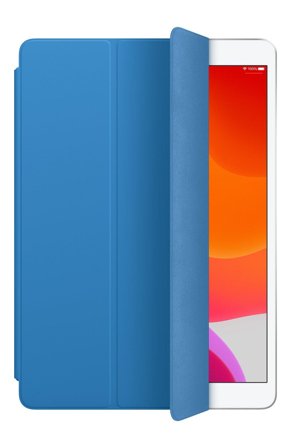 Мужской чехол smart cover для ipad (7th gen)/ipad air (3rd gen) APPLE  синего цвета, арт. MXTF2ZM/A   Фото 2