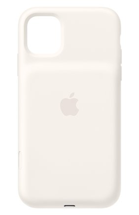 Мужской чехол smart battery case для iphone11 APPLE  белого цвета, арт. MWVJ2ZM/A | Фото 1