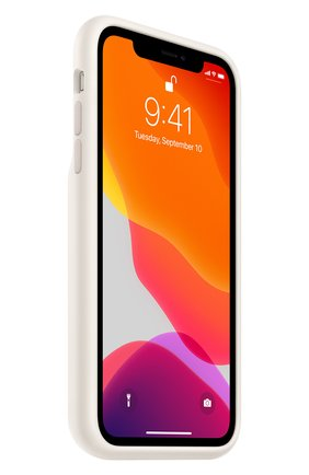 Мужской чехол smart battery case для iphone11 APPLE белого цвета, арт. MWVJ2ZM/A | Фото 2