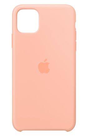 Мужской чехол для iphone 11 pro max APPLE  розового цвета, арт. MY1H2ZM/A | Фото 1