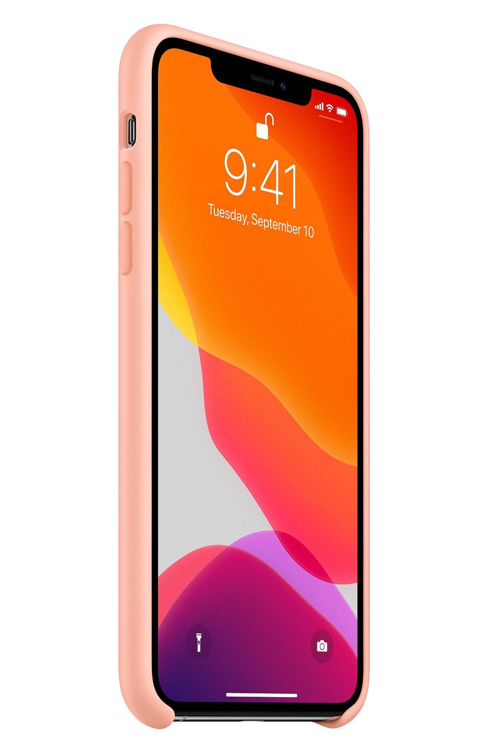 Чехол для iphone 11 pro max APPLE  розового цвета, арт. MY1H2ZM/A | Фото 2