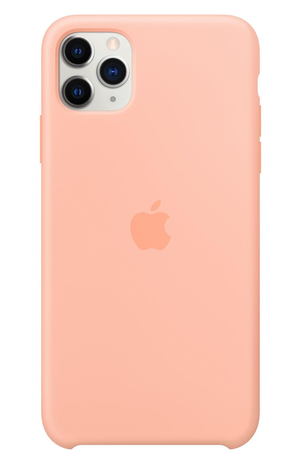 Чехол для iphone 11 pro max APPLE  розового цвета, арт. MY1H2ZM/A | Фото 3