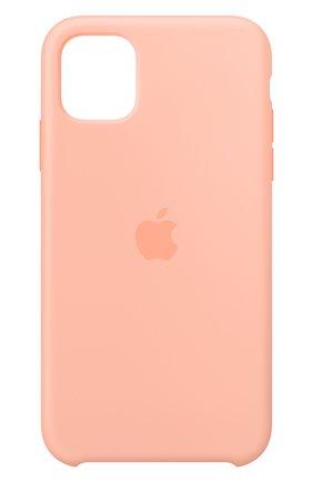 Мужской чехол для iphone 11 APPLE розового цвета, арт. MXYX2ZM/A | Фото 1