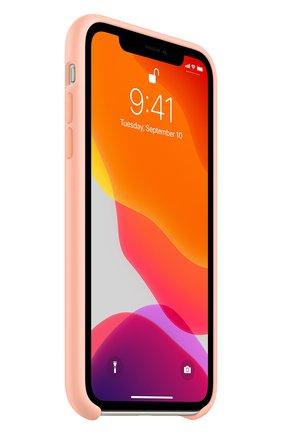 Мужской чехол для iphone 11 APPLE розового цвета, арт. MXYX2ZM/A | Фото 2
