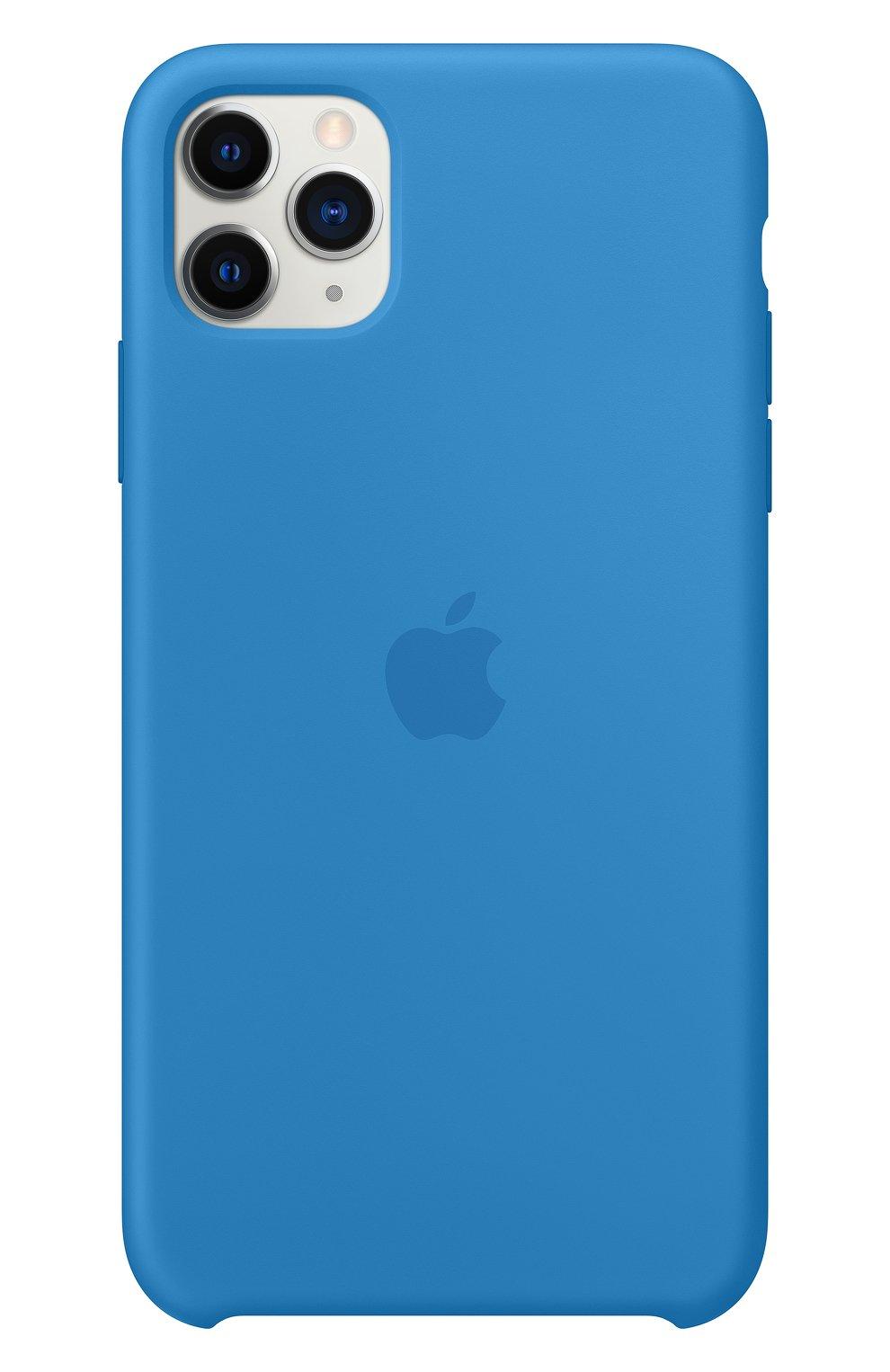 Мужской чехол для iphone 11 pro max APPLE  синего цвета, арт. MY1J2ZM/A | Фото 3