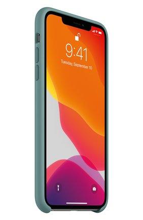Мужской чехол для iphone 11 pro max APPLE  светло-зеленого цвета, арт. MY1G2ZM/A | Фото 2
