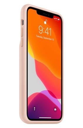 Мужской чехол smart battery case для iphone11 pro max APPLE  светло-розового цвета, арт. MWVR2ZM/A | Фото 2