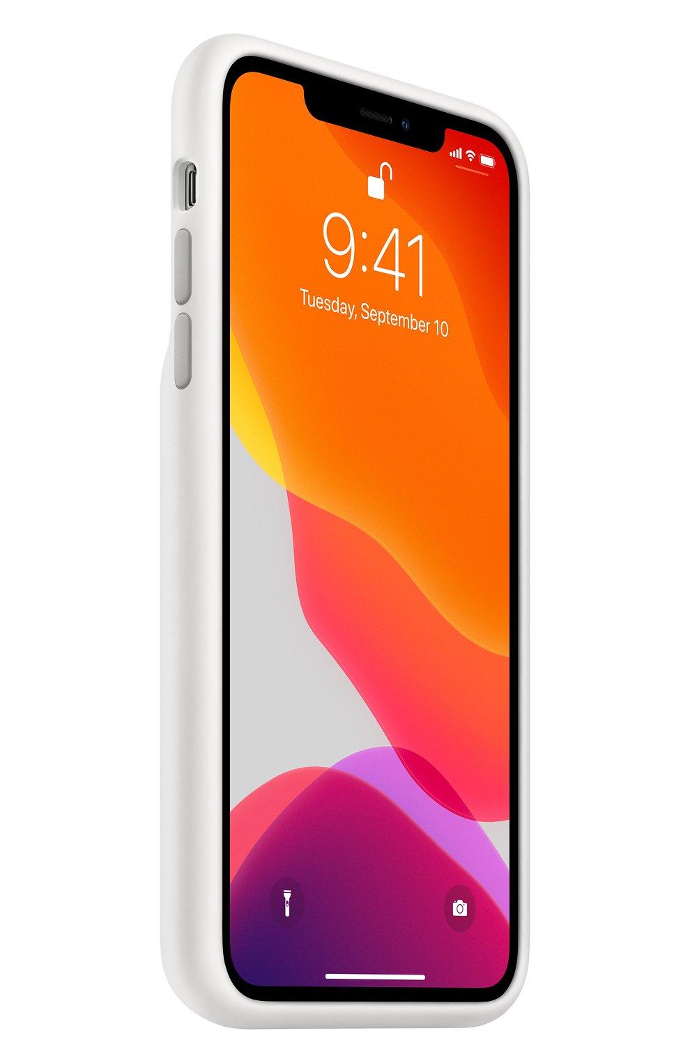Чехол smart battery case для iphone11 pro max APPLE  белого цвета, арт. MWVQ2ZM/A | Фото 2