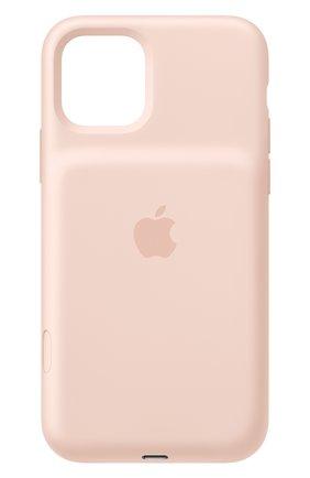 Мужской чехол smart battery case для iphone11 pro APPLE светло-розового цвета, арт. MWVN2ZM/A | Фото 1