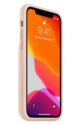 Мужской чехол smart battery case для iphone11 pro APPLE светло-розового цвета, арт. MWVN2ZM/A | Фото 2
