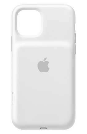 Мужской чехол smart battery case для iphone 11 pro APPLE белого цвета, арт. MWVM2ZM/A | Фото 1