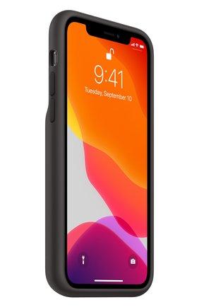 Мужской чехол smart battery case для iphone11 pro APPLE  черного цвета, арт. MWVL2ZM/A | Фото 2