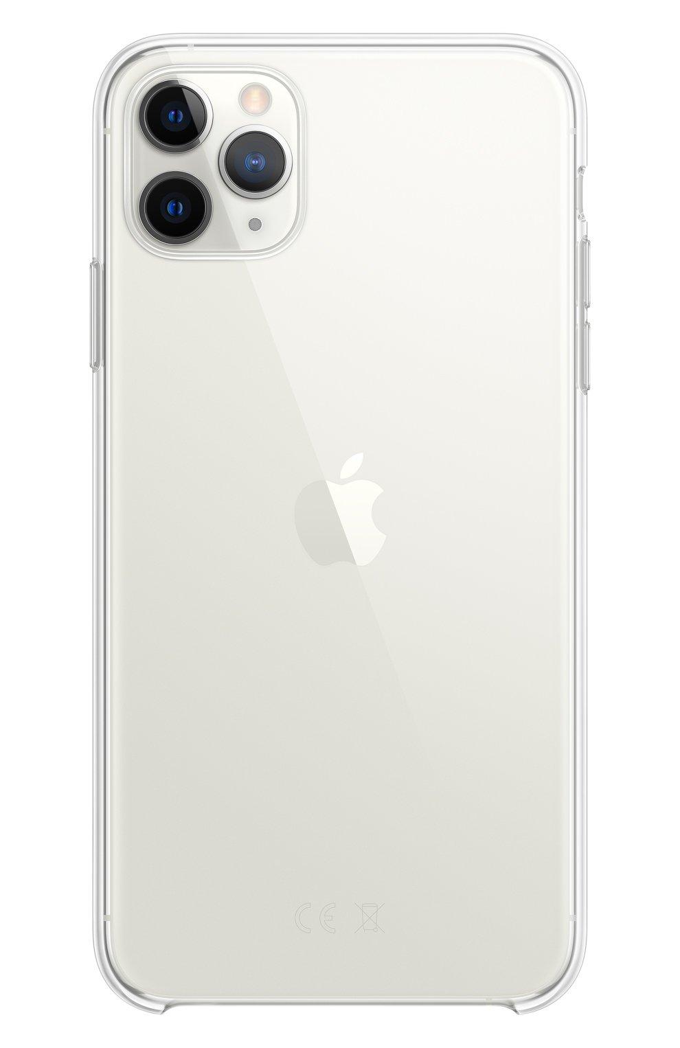 Чехол для iphone 11 pro max APPLE  прозрачного цвета, арт. MX0H2ZM/A | Фото 1