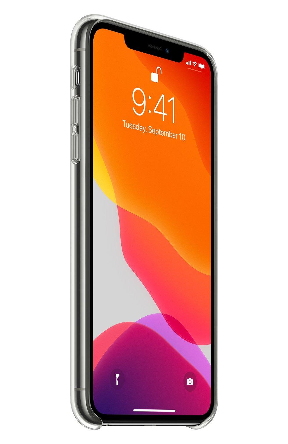 Чехол для iphone 11 pro max APPLE  прозрачного цвета, арт. MX0H2ZM/A | Фото 2