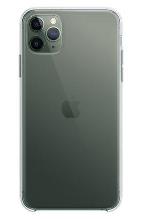 Чехол для iphone 11 pro max APPLE  прозрачного цвета, арт. MX0H2ZM/A | Фото 3