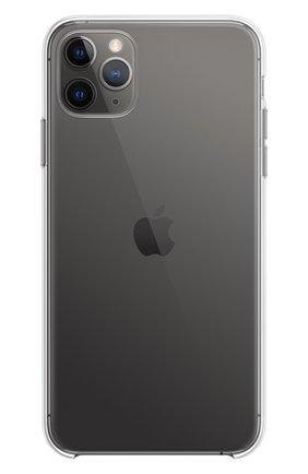 Чехол для iphone 11 pro max APPLE  прозрачного цвета, арт. MX0H2ZM/A | Фото 4