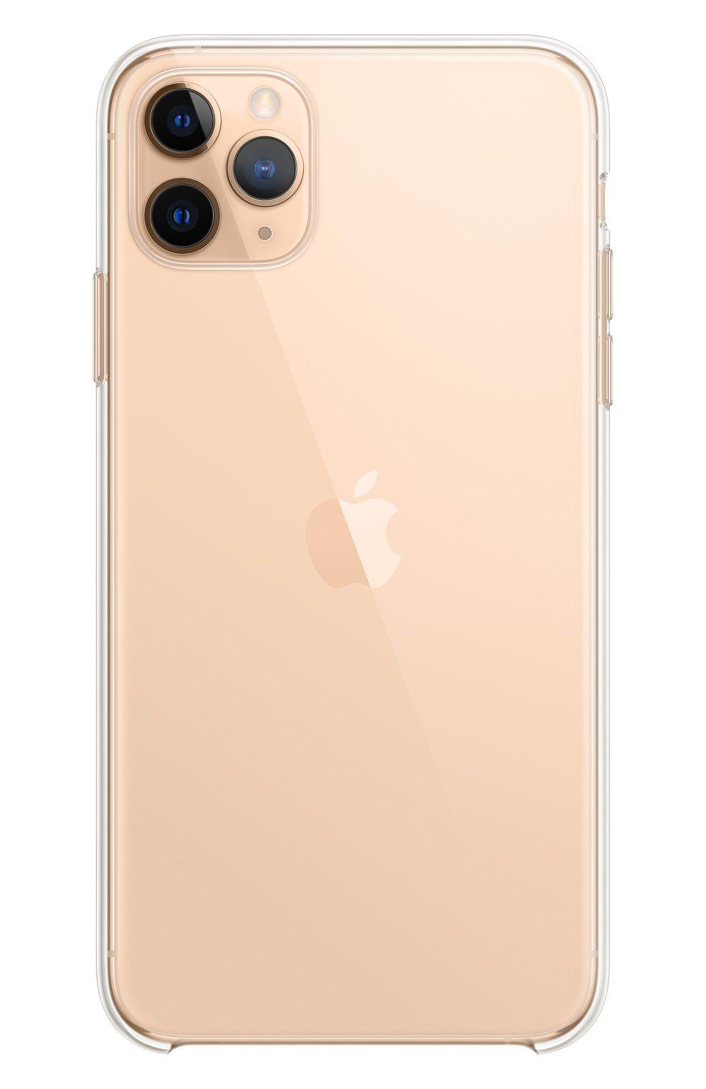 Чехол для iphone 11 pro max APPLE  прозрачного цвета, арт. MX0H2ZM/A | Фото 5