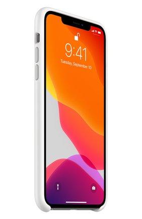 Мужской чехол для iphone 11 pro max APPLE  белого цвета, арт. MWYX2ZM/A | Фото 2