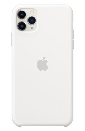 Чехол для iphone 11 pro max APPLE  белого цвета, арт. MWYX2ZM/A | Фото 3