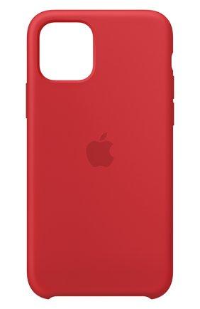 Мужской чехол для iphone 11 pro APPLE  красного цвета, арт. MWYH2ZM/A | Фото 1