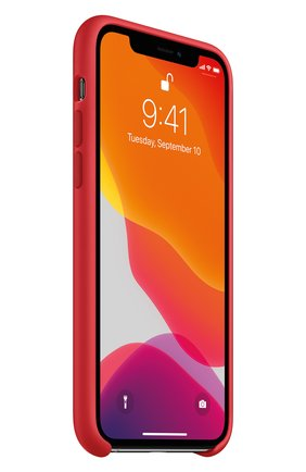 Мужской чехол для iphone 11 pro APPLE  красного цвета, арт. MWYH2ZM/A | Фото 2
