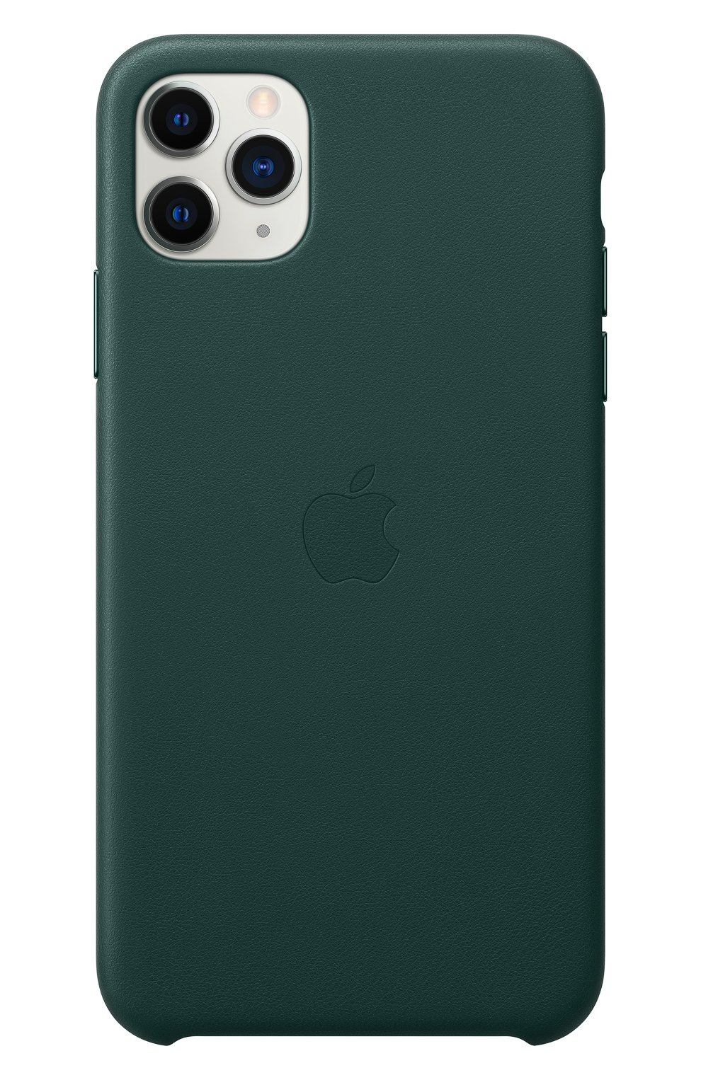 Кожаный чехол для iphone 11 pro max APPLE  темно-зеленого цвета, арт. MX0C2ZM/A | Фото 3