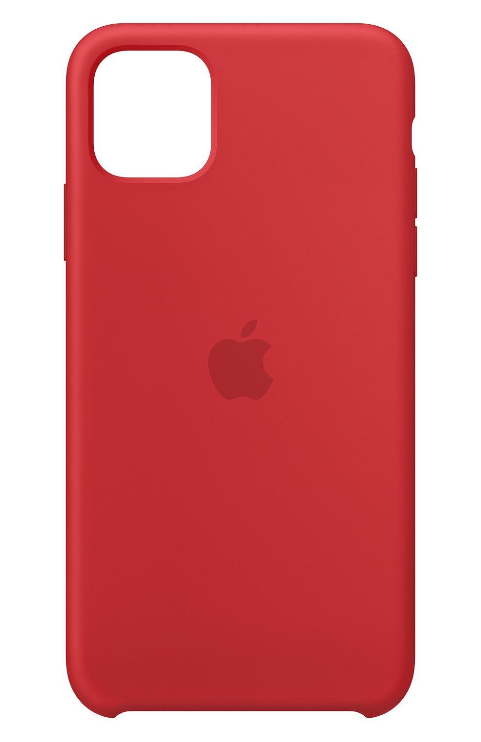 Чехол для iphone 11 pro max APPLE  красного цвета, арт. MWYV2ZM/A | Фото 1