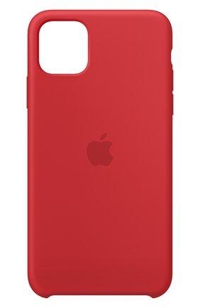 Мужской чехол для iphone 11 pro max APPLE  красного цвета, арт. MWYV2ZM/A | Фото 1