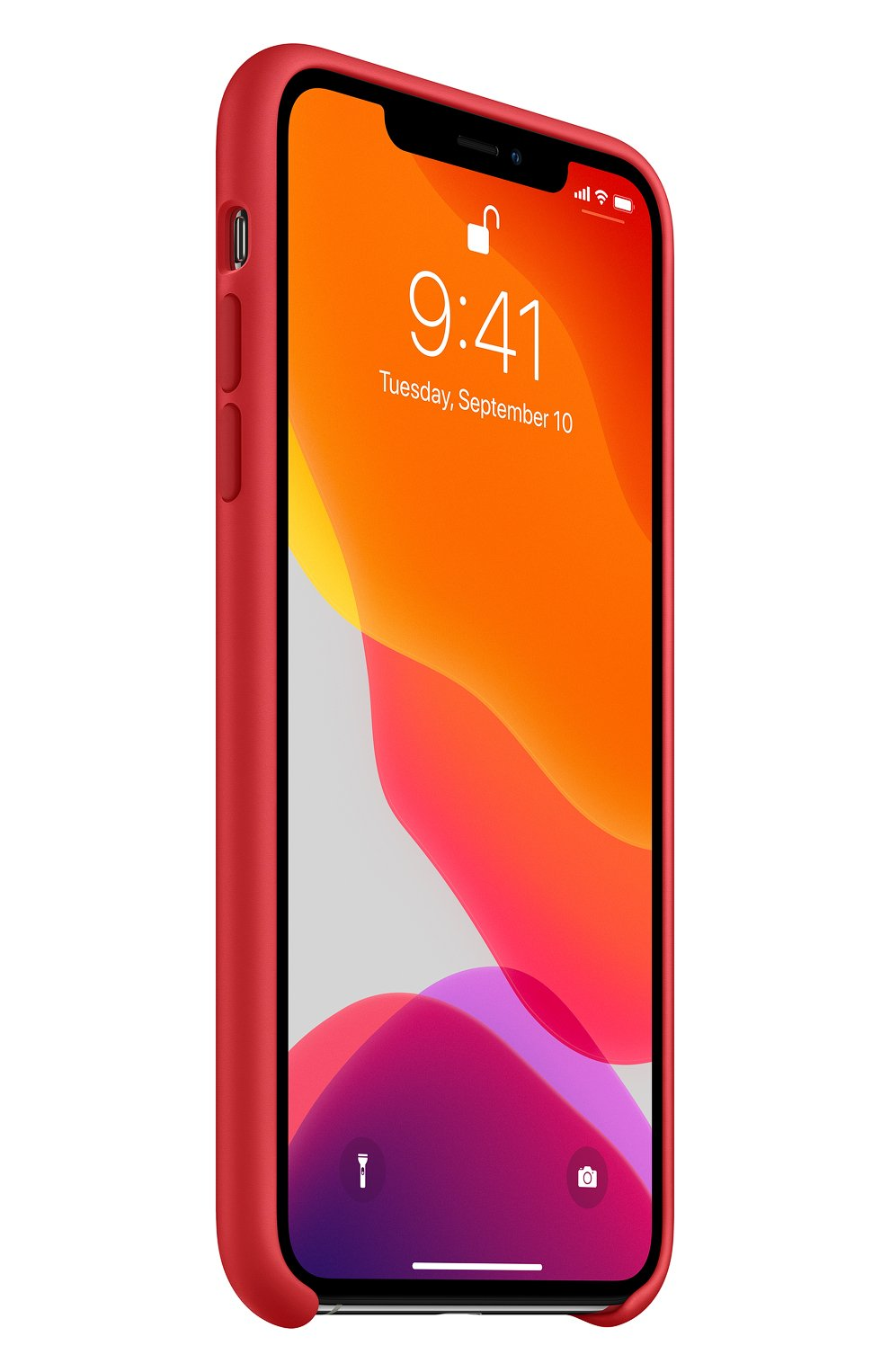 Чехол для iphone 11 pro max APPLE  красного цвета, арт. MWYV2ZM/A | Фото 2