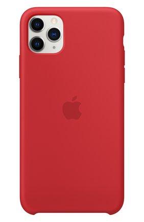 Чехол для iphone 11 pro max APPLE  красного цвета, арт. MWYV2ZM/A | Фото 3