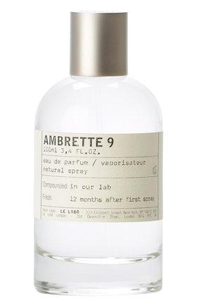 Женский парфюмерная вода ambrette 9 LE LABO бесцветного цвета, арт. 811901022899   Фото 1